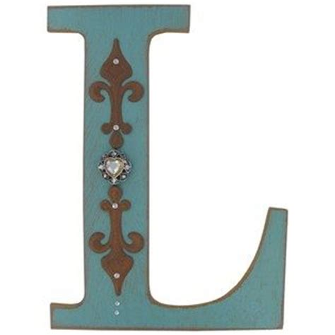 Wooden L by Silver Glitz Curl Grass Bush Rustic Wood Wood Letters And Shops