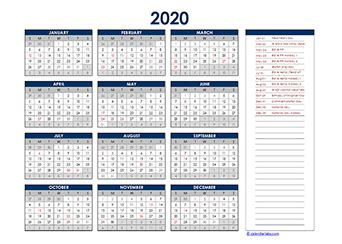 printable  uae calendar templates  holidays