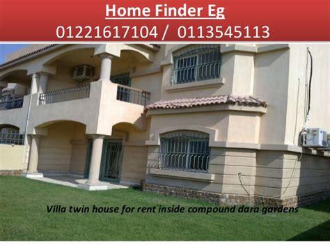 villa house for rent 4 bedrooms semi furnished inside