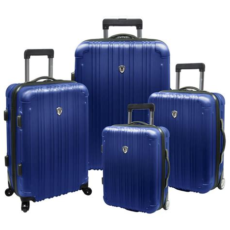 traveler s choice luxembourg 4 piece expandable hard sided