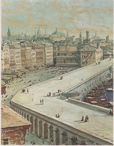 la via porto di genova c era una volta genova genova il porto dal 1800 al 1850