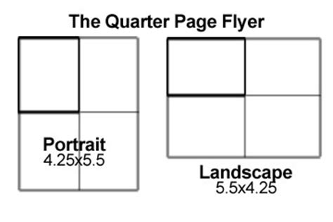 quarter sheet flyer template word downloadable file templates coolprinting