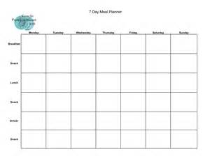 Blank Meal Plan Template by Blank Weekly Meal Plan Template Committed Get Fit