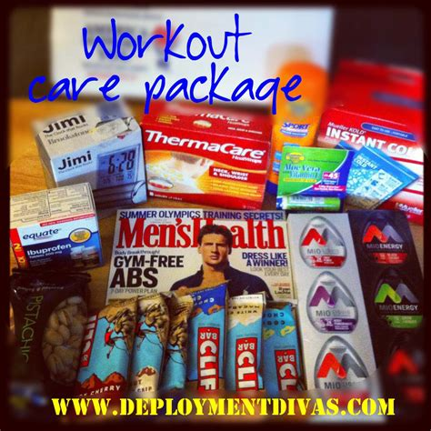 best christmas gifts for soldiers deployed fitness care packeges fitness care package 1 more knock out gift and