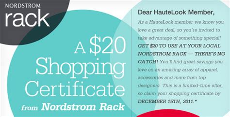 Norstrom Rack Coupon nordstrom rack coupon codes june 2015