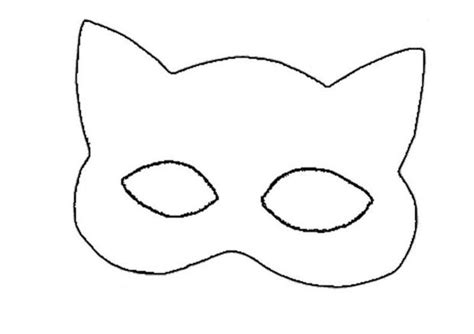 printable mask of cat how to craft catwoman mask hellokids com