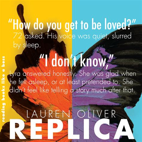 replica book one in book review replica by lauren oliver reading books like a boss
