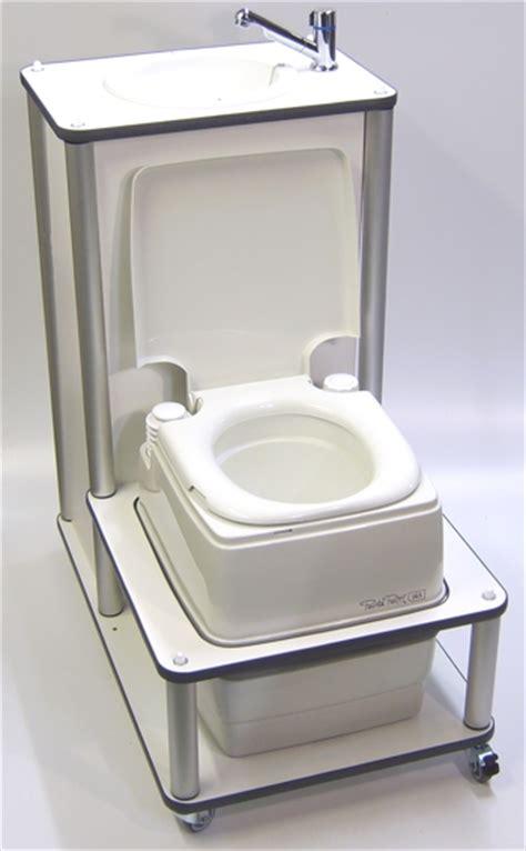 Toilette Mit Wasserhahn by Chluba Freizeittechnik Rollbare Toilette Mit Waschbecken
