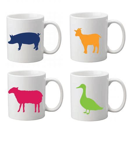 animal mug animal mug set 200351 farm sanctuary