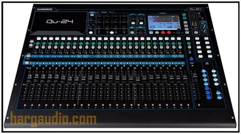 Daftar Mixer Audio Sound System 4 daftar harga mixer digital allen heath di indonesia