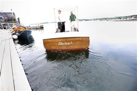 electric boat explanation hybrid maine trawler to have all the trappings the