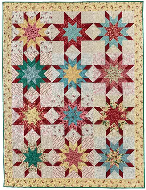 Shooting Quilt Pattern by Shooting Quilt Fons Porter