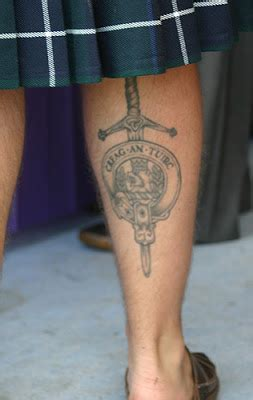 scottish clan tattoo designs scottish