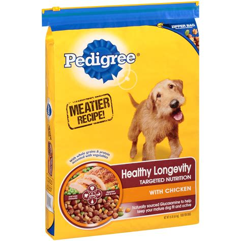 is pedigree a food pedigree food for dogs healthy longevity 15 lb 6 8 kg shop your way