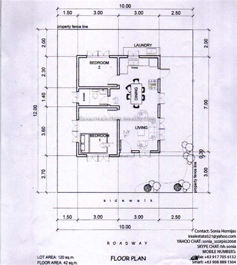 low cost floor plans low cost bungalow house plans philippines home design