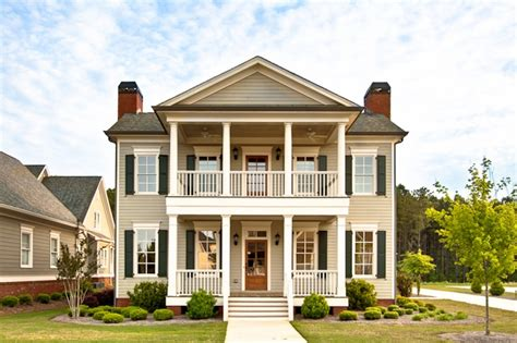 two story house plans with front porch colonial simple