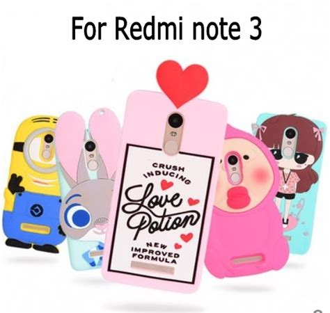 Softcase Kartun Minion Soft Cover Xiaomi Redmi Note 3 Pro 3d zootopia bunny minion potion chill pills boy tear pink soft silicone cover for