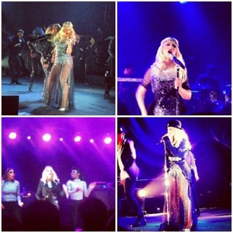 christina aguilera private concert photos did you know christina aguilera held a secret