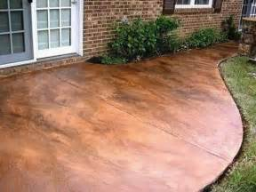 Concrete Patio Stain by Stained Concrete Patio Back Yard Pinterest Stains