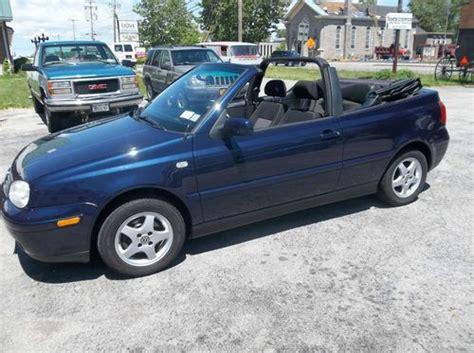 Volkswagen Cabrio 2001 by Buy Used 2001 Volkswagen Cabrio Gl Convertible 2 Door 2 0l