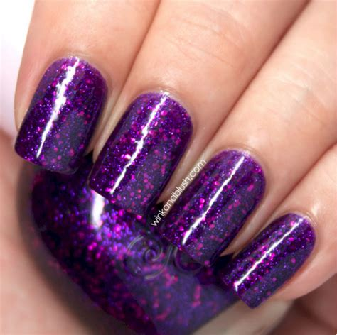 glittery purple nail art 60 cool purple glitter nail art design ideas for trendy girls