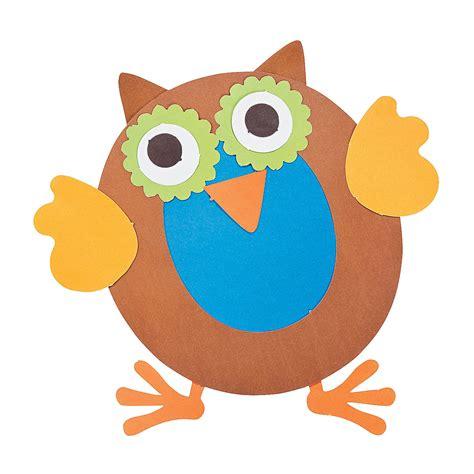 owl crafts for letter o crafts preschool and kindergarten