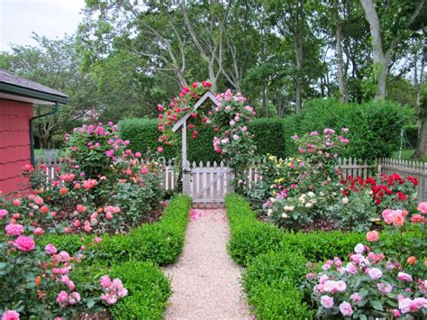 Small Cottages House Plans by Cottage Garden Design With Roses Wilson Rose Garden