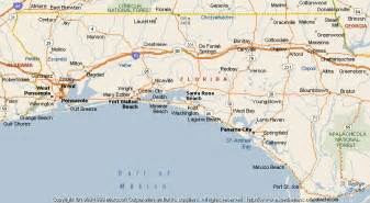 map of santa rosa florida map of santa rosa