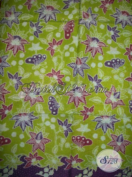 jual kain batik warna hijau bahan kain batik dolby serat nanas halus berkwalitas k1386pd
