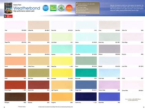 7 best images of nippon paint colour chart nippon paint