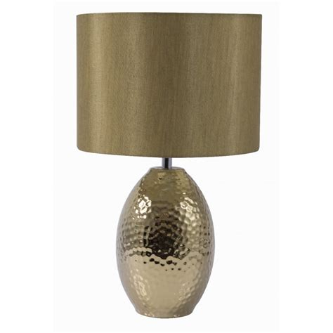 Led Lighting For Home Interiors searchlight 4547go table lamp ceramic hammered gold