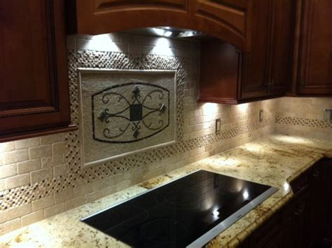 kitchen backsplash metal medallions maicon backsplash wall medallions traditional kitchen ta by great britain tile