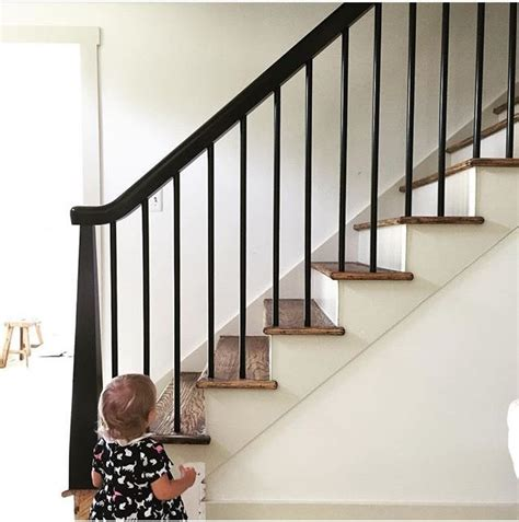 wood banister railing 25 best ideas about wood stair railings on pinterest