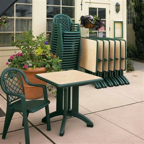 Commercial Patio Tables And Chairs Arm Chair By Grosfillex
