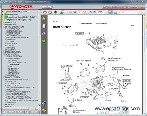 automotive repair manual 1994 toyota corolla spare parts catalogs toyota yaris service manual free download