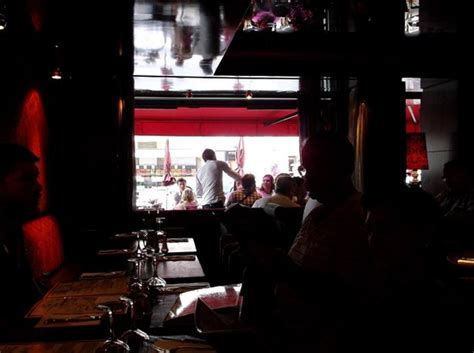 Comptoir Du 7 by A View From The Inside Of The Restaurant Picture Of Le