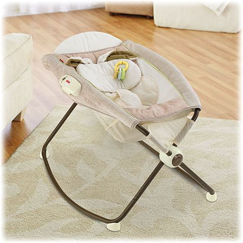 Snugabunny Rock N Play Sleeper by Snugabunny Deluxe Newborn Rock N Play Sleeper