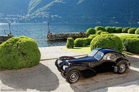 Download wallpaper Bugatti, 57SC Atlantic, Lake, Como free