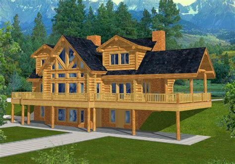 mountain house plans mountain home plans with walkout basement
