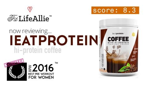 L Hi Protein 2 Go i eat protein coffee review i ll take a starbucks instead