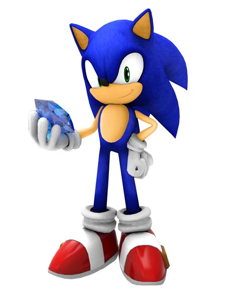 Sonic A 12 E sonic with a chaos emerald by kuroispeedster55 on deviantart