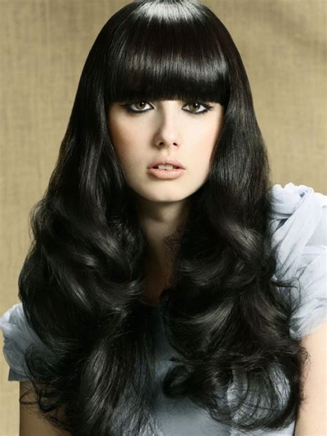 Hairstyle For Black Hair by A Black Hair Color For Your Hairstyle Home Hair Styles