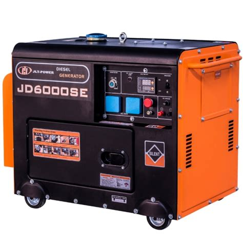 buy 5kw silent diesel home use generator jd6000se