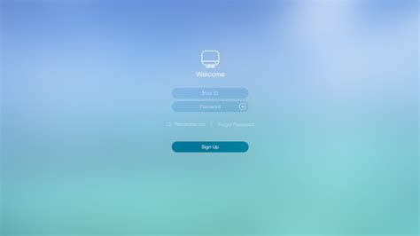 behance login ios style simple login page on behance