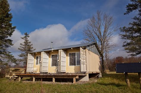 Tin Cabin by 15 Awesome Shipping Container Cabins Legendary