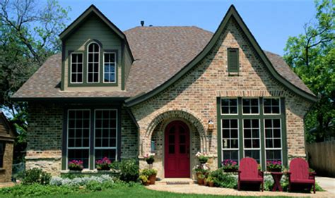 exterior paint colours for tudor homes