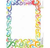 Colorful Frame Square Stock Image  5263141