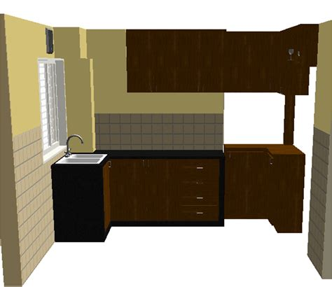 iquest designs simple kitchen cabinet design for small