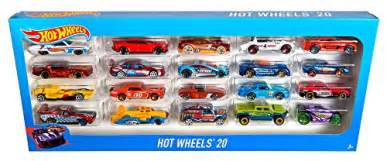 Hot Wheels 20 Car Gift Pack (Styles May Vary)   Toy in the