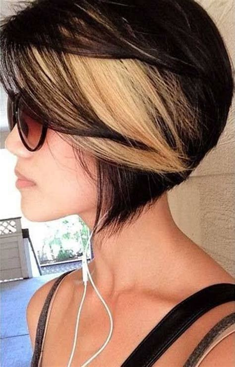 2 Color Hairstyles by Two Tone Hair Color Ideas Hairstyle 2013